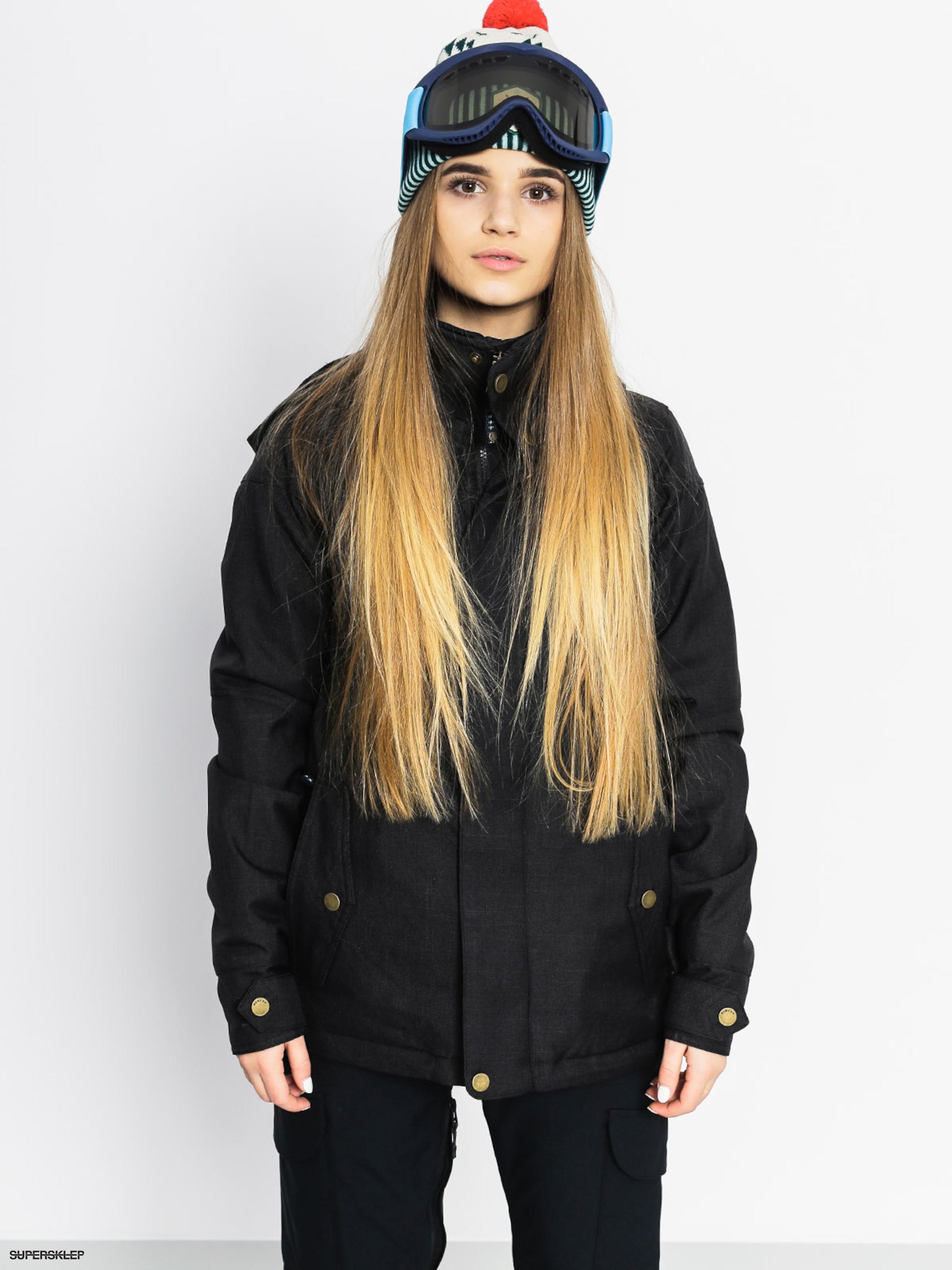 dcb172215 Snowboardová bunda Burton Jet Set Wmn (true black)