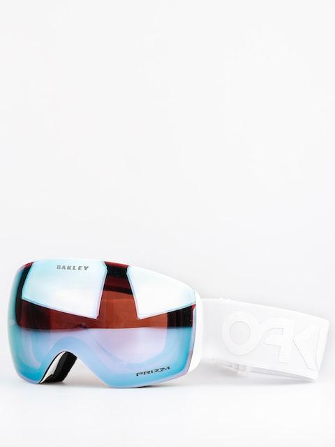 Brýle na snowboard Oakley Flight Deck (factory pilot whiteout w/przm sapphire)