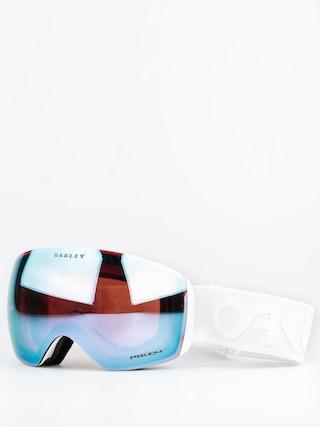 Bru00fdle na snowboard Oakley Flight Deck (factory pilot whiteout w/przm sapphire)