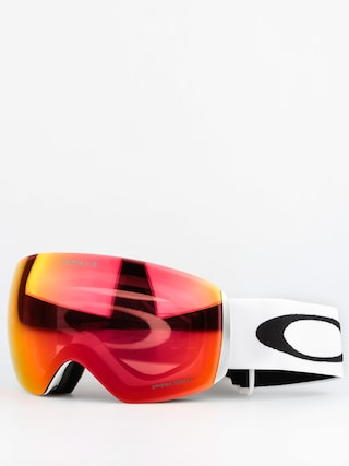 Brýle na snowboard Oakley Flight Deck (matte white w/prizm torch)