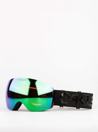 Oakley Bru00fdle na snowboard Flight Deck (factory pilot blackout w/prizm jade)