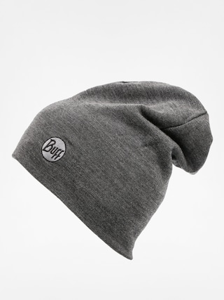 Čepice Buff Merino Wool Thermal (solid grey)