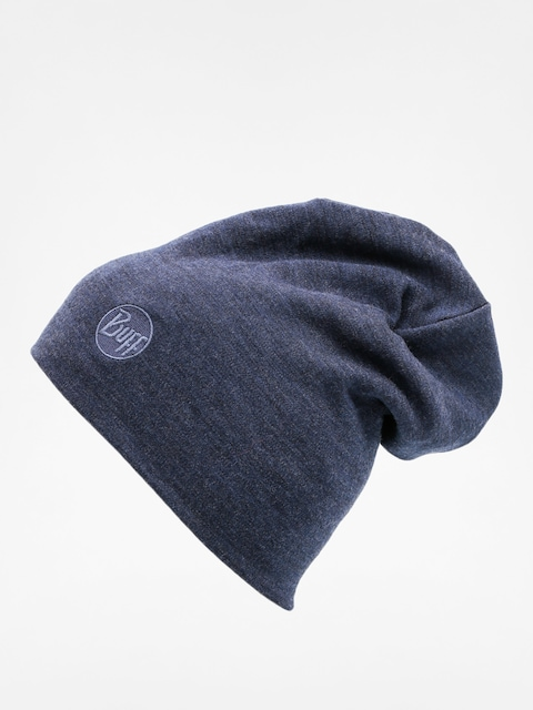 Čepice Buff Merino Wool Thermal (solid denim)