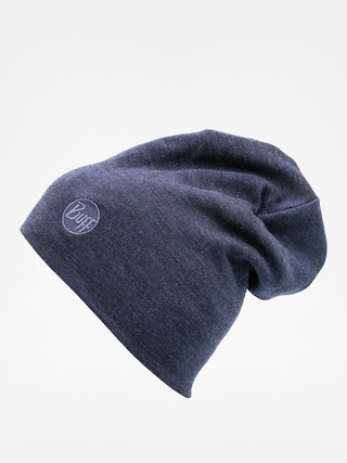 u010cepice Buff Merino Wool Thermal (solid denim)