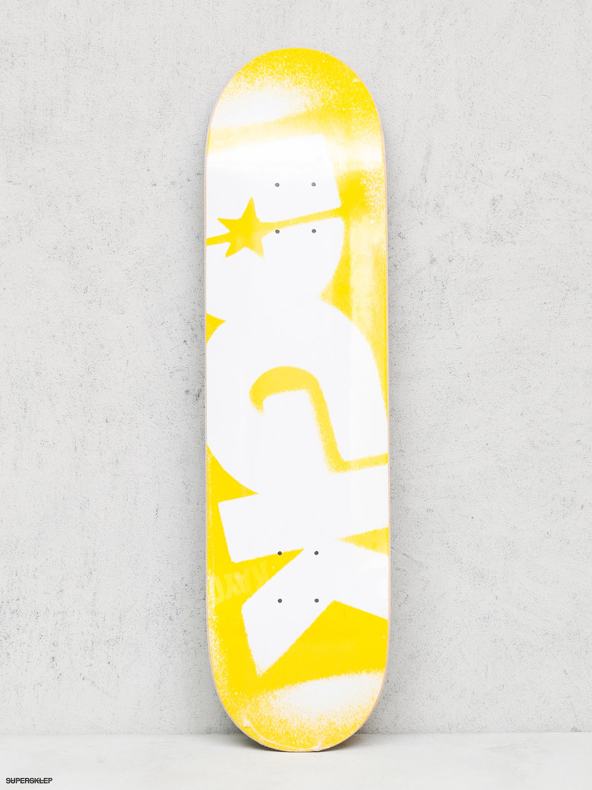DGK Deska Price Point (yellow/white)