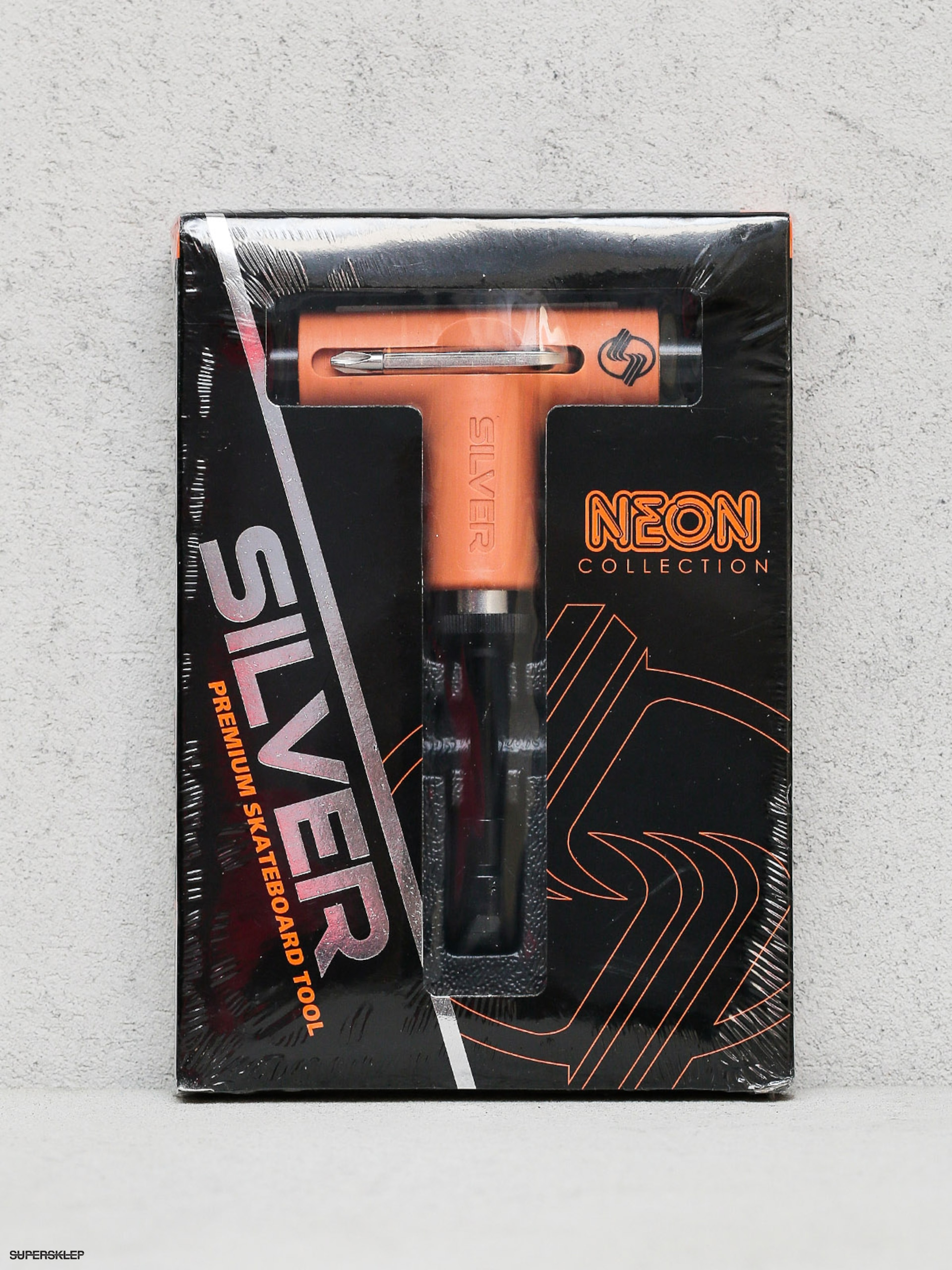 Klíč Silver Tool Neon (orange/black)