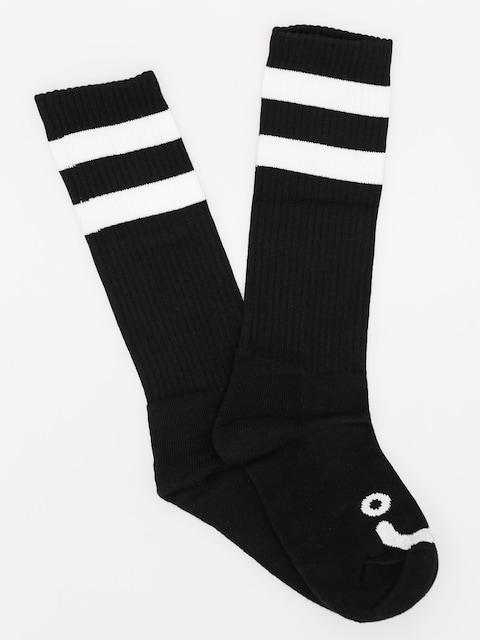 Ponožky Polar Skate Happy Sad Classic (black)