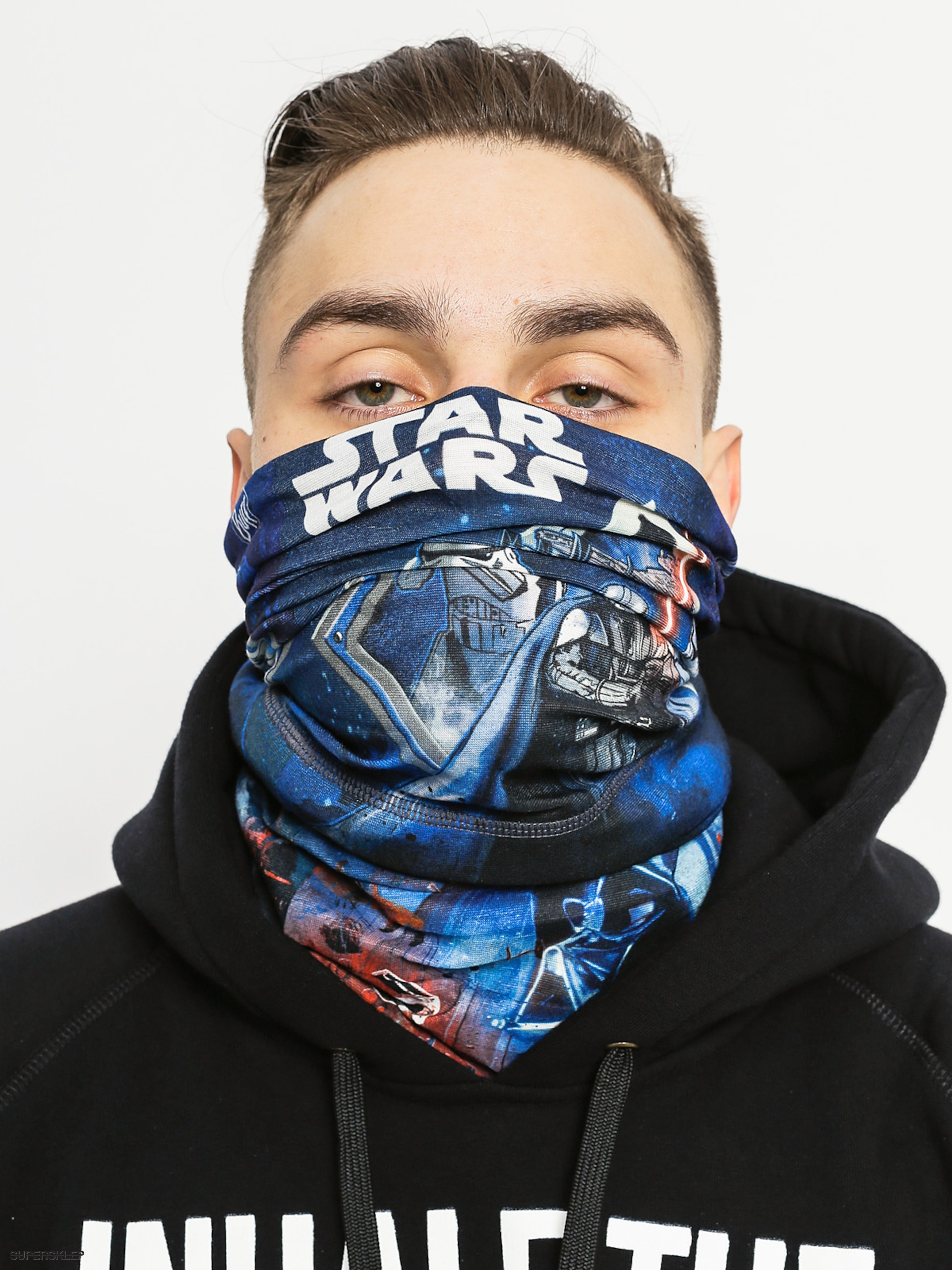 Šátek Buff Polar Star Wars (lightsaber multi/black)