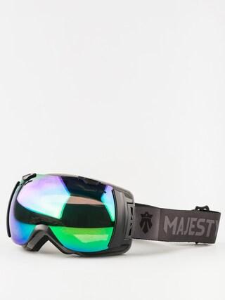 Brýle na snowboard Majesty Spectrum (matt black/green emerald mirror/clear citrine)