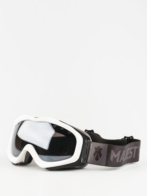Brýle na snowboard Majesty Patrol (glossy white/black onyx mirror/clear citrine)
