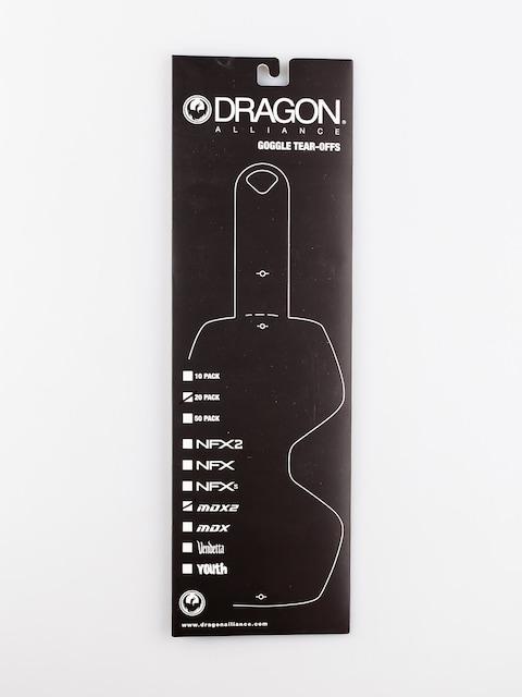 Sklo pro gogle Dragon MDX2 (tear off 20 pack)