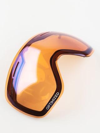 Sklo na snowboardové brýle Dragon X1s (optimized flash blue)