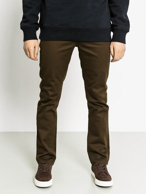 Kalhoty Kr3w K Slim 5 Pocket (dark drab)
