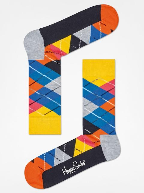 Ponožky Happy Socks Argyle (yellow/grey/black)