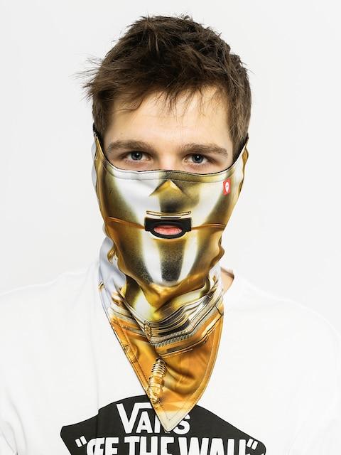Bandana Airhole C3PO (gold)