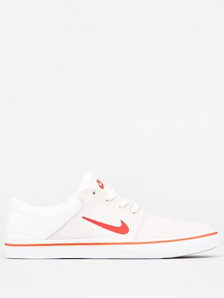 Boty Nike SB Portmore (summit white/max orange white)