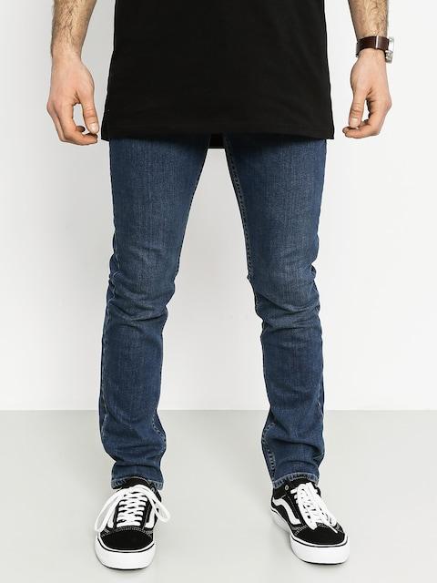 Kalhoty Vans V76 Skinny (vintage blue)