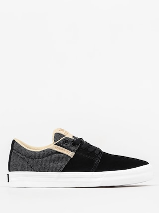 Boty Supra Stacks Vulc II (black white)