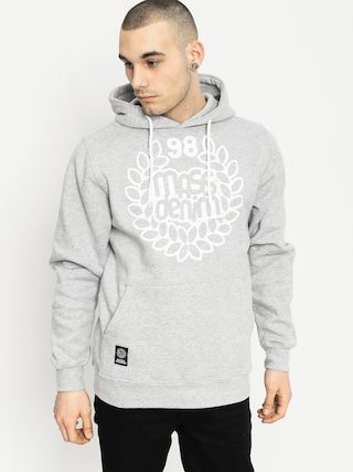 Mikina s kapucí MassDnm Base HD (grey heather)