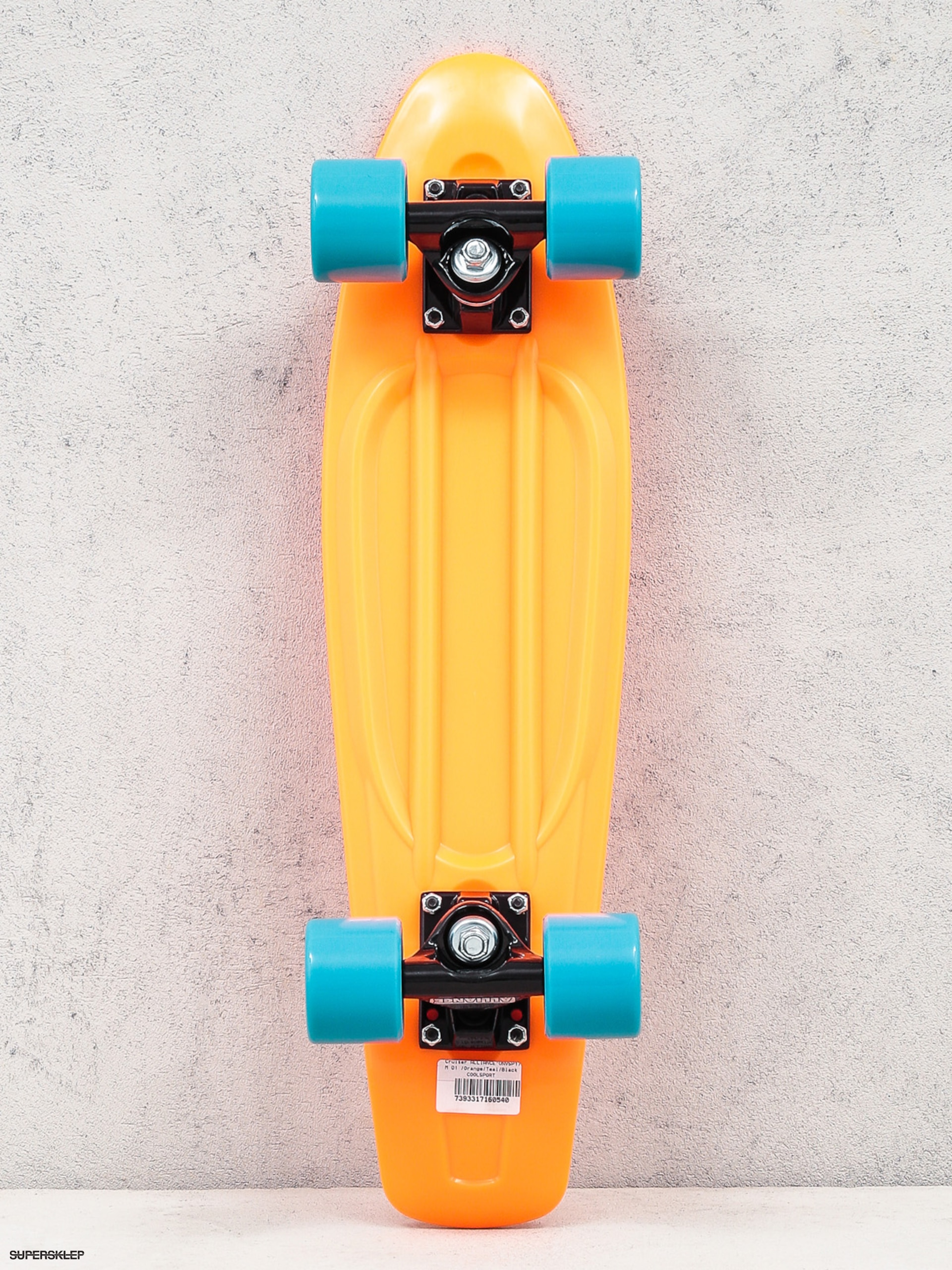 Cruiser Alliance 01 (orange/teal/black)