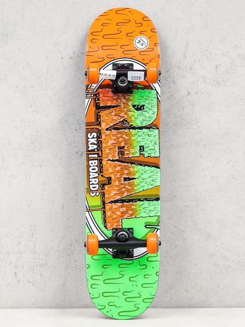 Skateboard Real Slime Fades (orange/green)