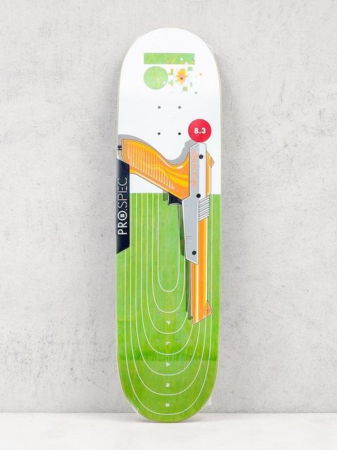 Deska Plan B Chris Cole Heat (white/green/orange)
