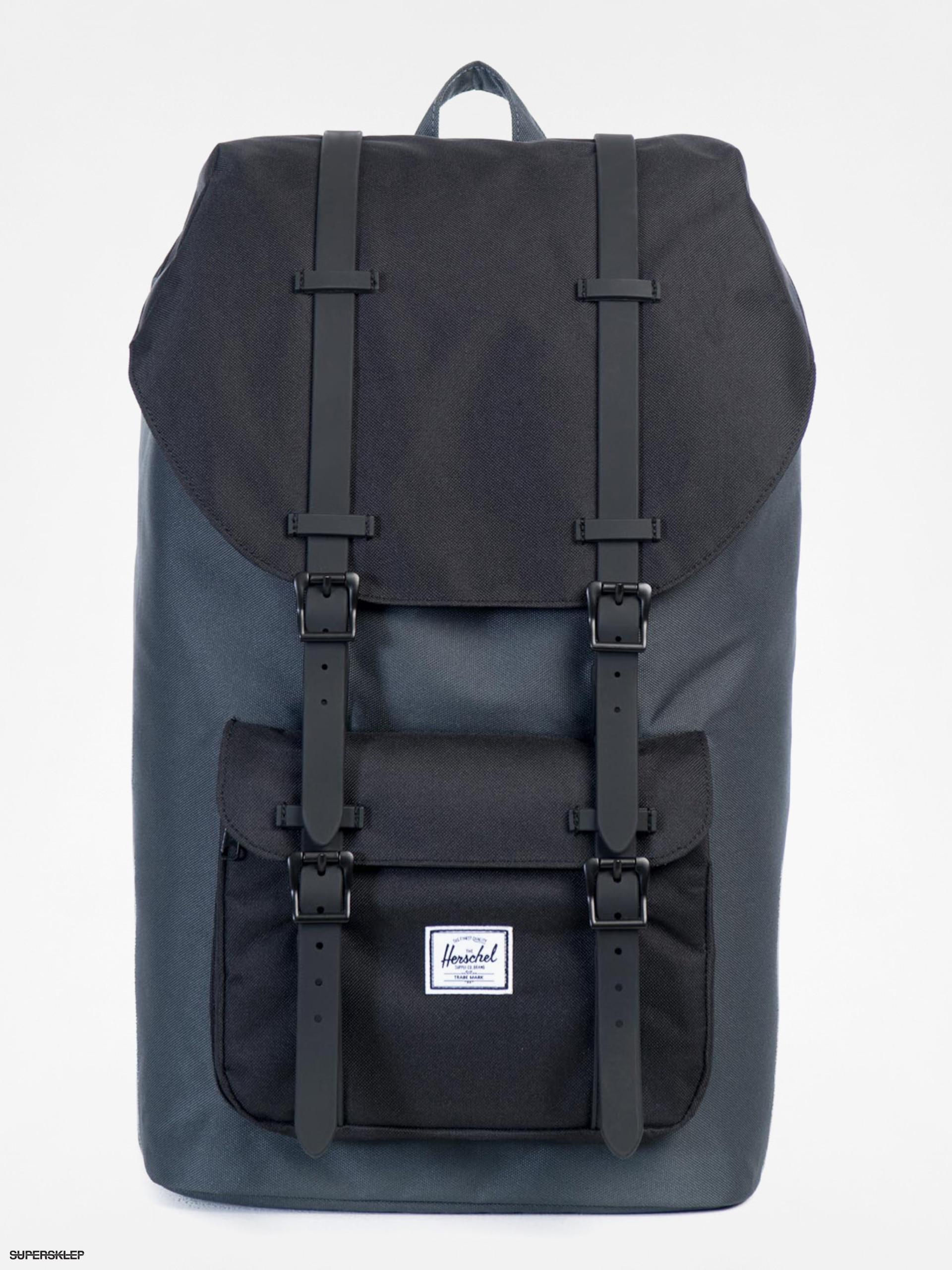 9387e80cd8 Batoh Herschel Supply Co. Little America (dark shadow black black 25l)