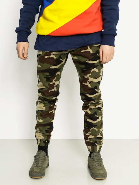 Kalhoty MassDnm Base Jogger Sneaker Fit (camo)