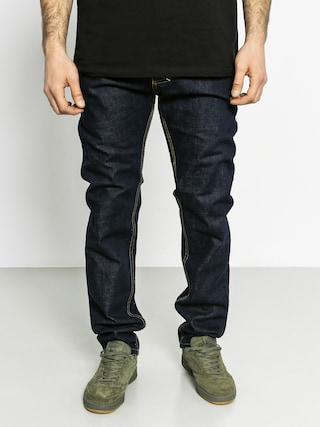 Kalhoty MassDnm Flip Tapered Fit (dark navy)