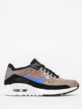 Boty Nike Air Max 90 Wmn (Ultra 2 0 Flyknit black/medium blue cool grey)