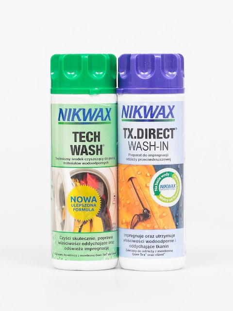 Impregnace a prací prostředky Nikwax Twin Tech Wash Tx Direct Wash In (2x300ml)