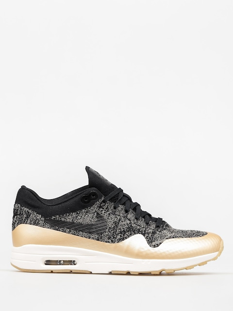 Boty Nike Air Max 1 Wmn (Ultra 2.0 Flyknit Metallic black/black mtlc gold star)