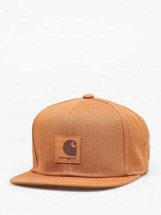 Kšiltovka  Carhartt Logo ZD (hamilton brown)