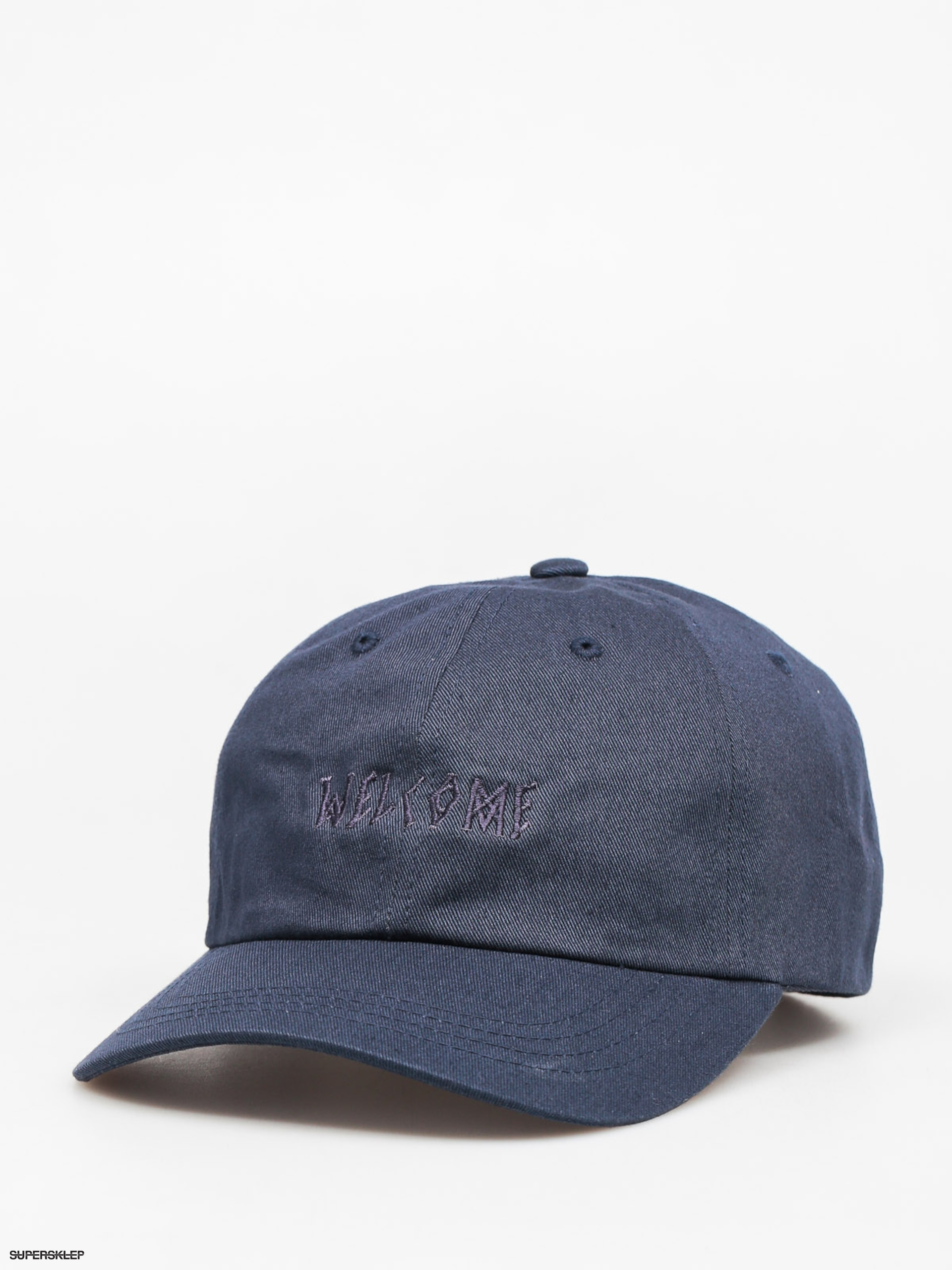 Kšiltovka  Welcome Tonal Scrawl 6 Panel ZD (navy)