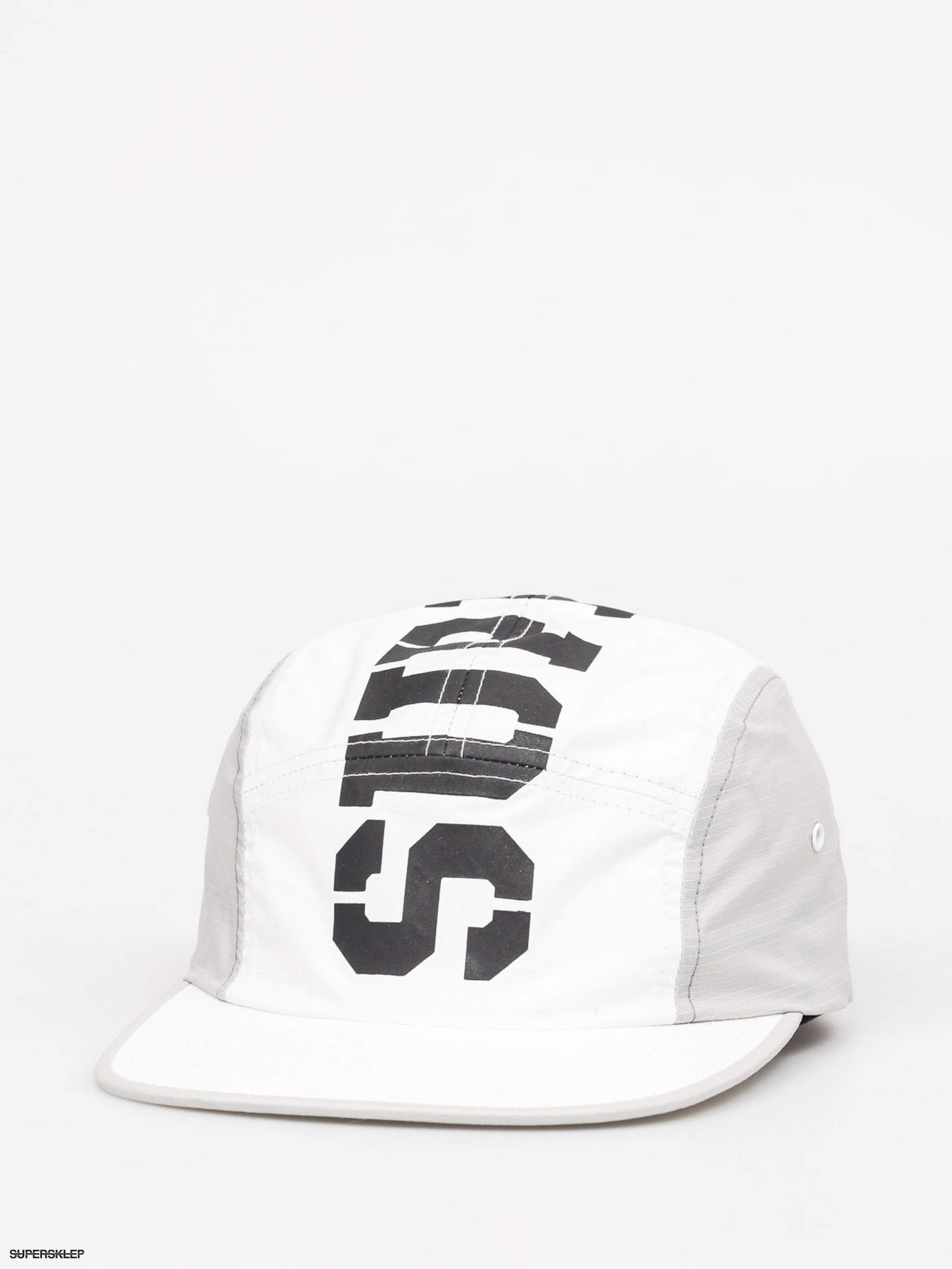 Kšiltovka  Supra Major 5 Panel ZD (white/grey)