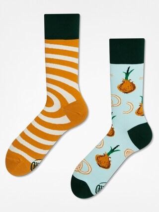 Ponožky Many Mornings Onion Rings (blue/sand)