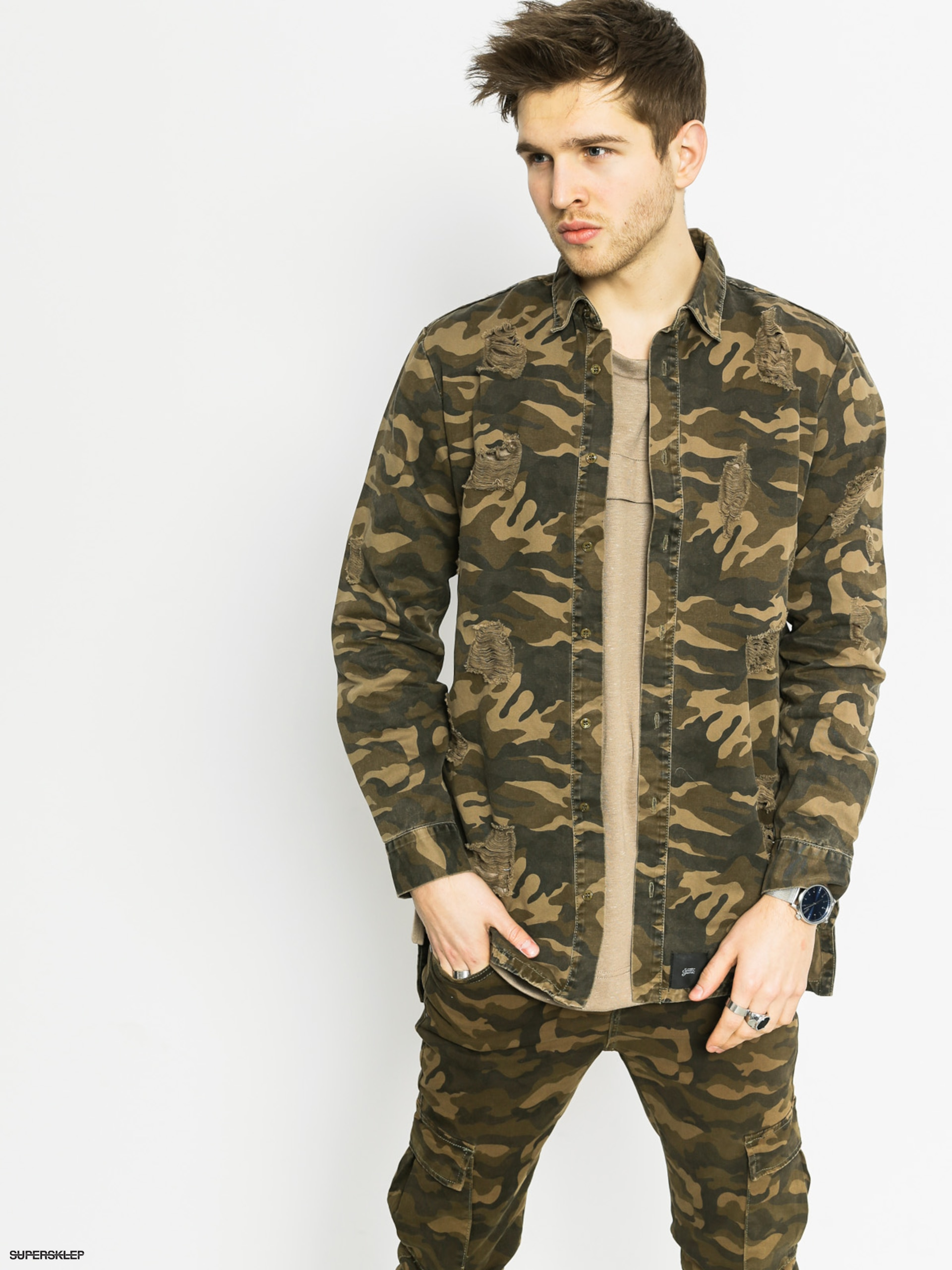 Bunda Sixth June Chemise (camo)