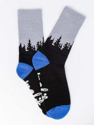 Ponožky Malita Forest (black)