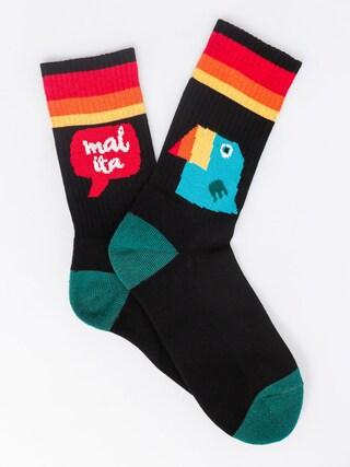 Ponožky Malita Toucan (black)
