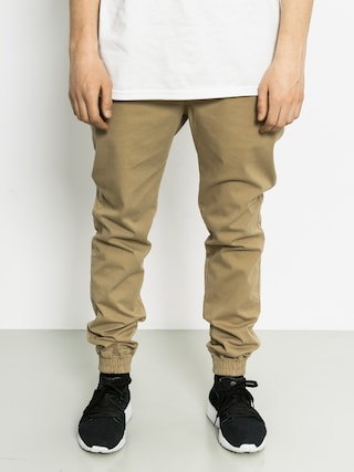 Kalhoty Malita Jogger (beige/kamo pocket)