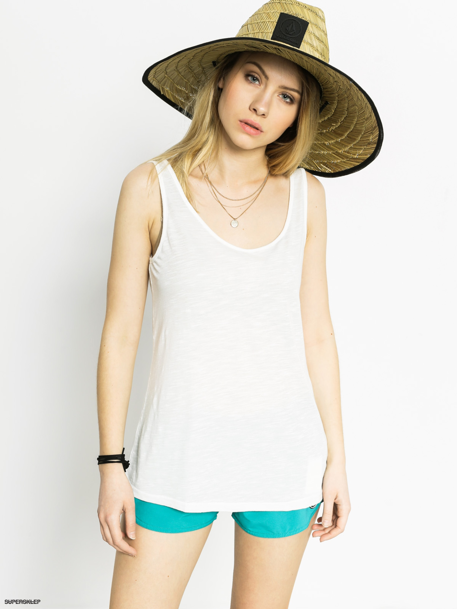 Tričko Volcom Back It Up Tank Wmn