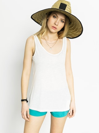 Tričko Volcom Back It Up Tank Wmn (wht)