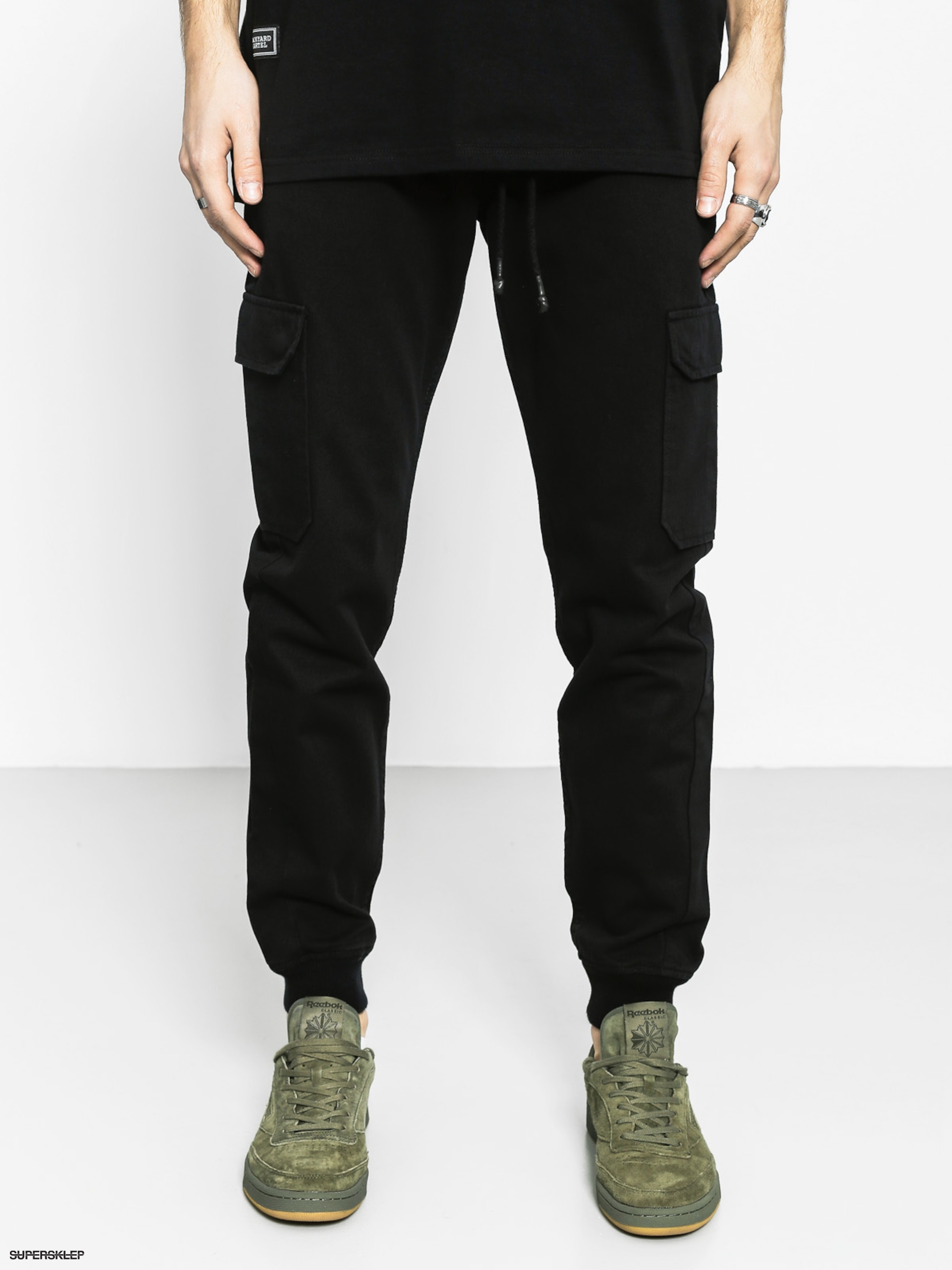 Kalhoty Backyard Cartel Immortal Jogger (black)