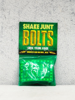 Šroubky Shake Junt Bolts Phillips (black/green/yellow)