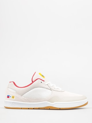 Boty Es Swift (white/red)