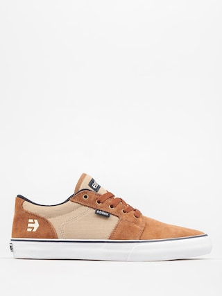 Boty Etnies Barge LS (brown/navy)