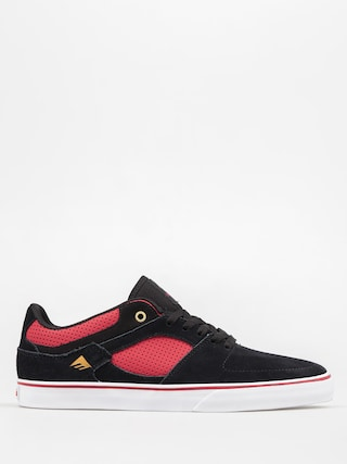 Boty Emerica The Hsu Low Vulc (black/red)