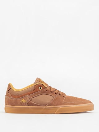 Boty Emerica The Hsu Low Vulc (brown/gum)