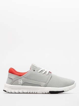 Boty Etnies Scout Wmn (light grey/black/orange)