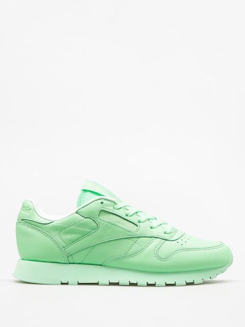 Boty Reebok Cl Lthr Pastels Wmn (mint green/white)